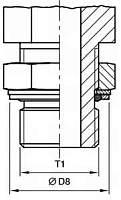 чертежи Исполнения и стандарты ввертных соединений FORM H DIN 3852, ISO 9974-2