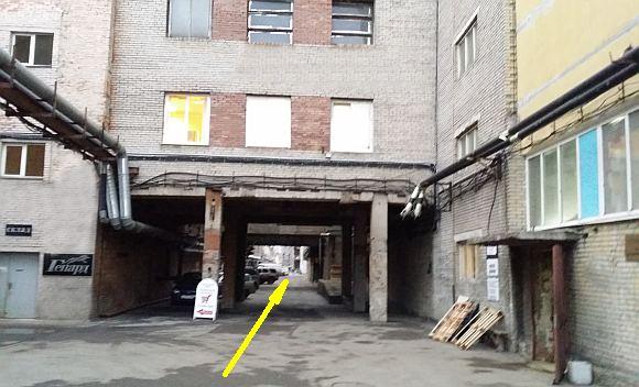 Схема проезда улица Коли Томчака дом 28Ц