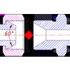 определение типа и размерности трубного BSP фитинга по резьбе и форме ниппеля