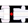 определение типа и размерности дюймового ORFS фитинга по резьбе и форме ниппеля