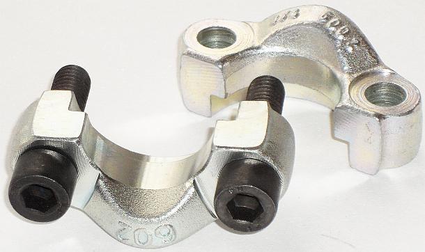 Размеры фланцевых зажимов 6000PSI SFCC6000 code 62 тяжелой серии