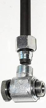 Кольцевой переходник адаптер для гидроцилиндра