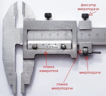 как точно измерить шаг резьбы фитинга штангелем с микрометрической подачей
