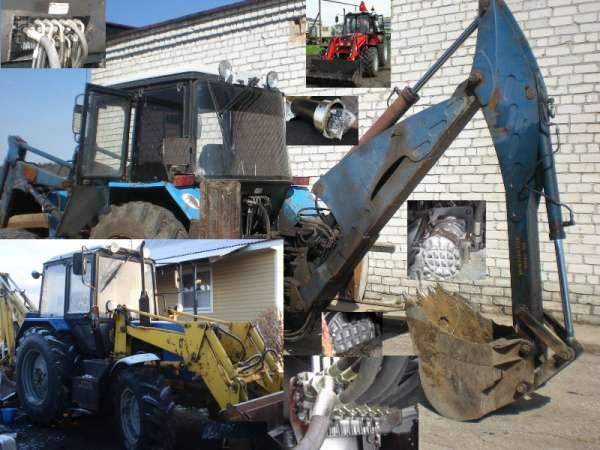 Распределитель на экскаватор на базе тракторов МТЗ и ЮМЗ