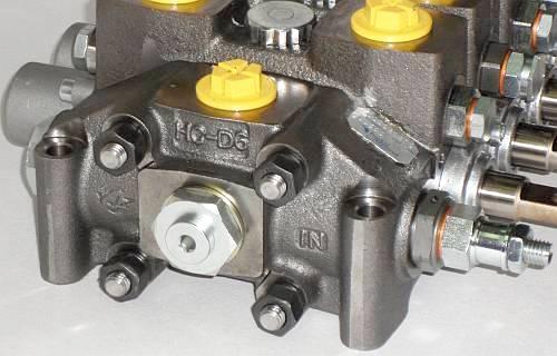 Гидрораспределитель Hydrocontrol HC-D6/6 напорная секция с главным клапаном