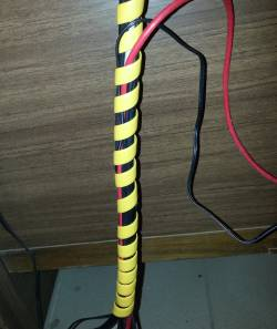 защита для РВД пластиковые спирали для кабеля