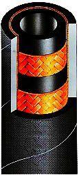 гидрошланг РВД оплеточной конструкции SEL COLDSTREAM 2SN DIN EN853 2SN SAE 100R2AT/ISO 1436 CS-HWB323