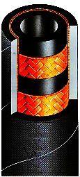 гидрошланг РВД оплеточной конструкции SEL FORCESTREAM 2SC DIN EN857 2SC HWB325