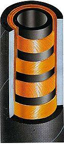 гидрошланг РВД навивочной конструкции SEL POWERSTREAM 4SP DIN EN856 4SP SAE 100R9R/ISO 1307 PS-4SP391