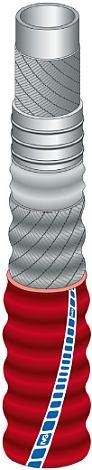 Рукав напорно-всасывающий IVG FOOD VINOFLEX/10 IIR RED для алкогольных напитков и крафтовых пивоварен