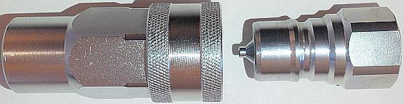 БРС ISO A ISO 7241-1A быстроразъемные соединения с клапаном конической формы