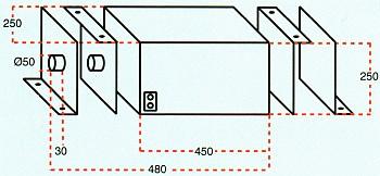 Установочный чертеж отрезного станка для резки РВД HYKY 220K