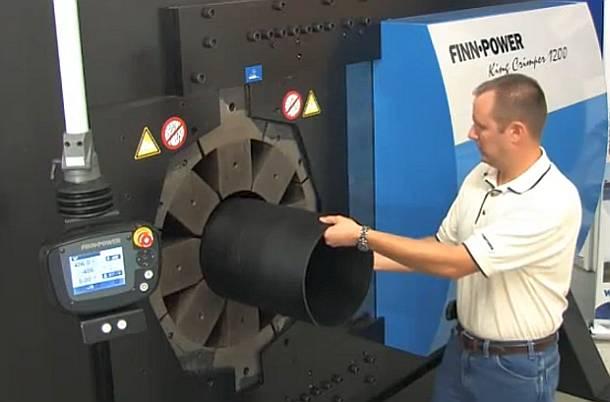 Оборудование FINNPOWER обжимные прессы, отрезные машины, окорочные станки