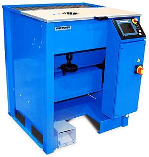 Пресс машина FINN-POWER NC20 UC для сборки фитингов с обжимной гайкой - обжатие гайки