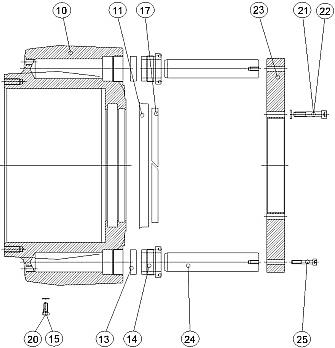 деталировка запчастей для ремонта обжимной головы FINN-POWER P32