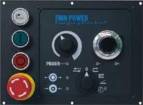 Панель управления FINN-POWER IS в узлах управления C1