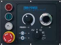 Панель управления FINN-POWER IS в моделях NC и CC