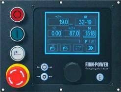Панель управления FINN-POWER VS в моделях NC и CC