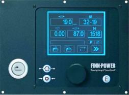 Панель управления FINN-POWER VS в моделях P серии