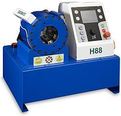Радиальный обжимной пресс TUBOMATIC H88 ES для опрессовки гидрошлангов РВД Италия OP Slr