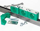 Элементы крепежа DIN 3015 Трубные колодки, кронштейны и крепления DIN 3015 для монтажа труб, шлангов и кабелей
