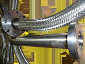 Гибкий герметичный металлорукав высокого давления