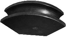 гибочный шаблон трубогиба O+P СМ42 CURCM42 для ручной гибки для металлической трубы до 42мм