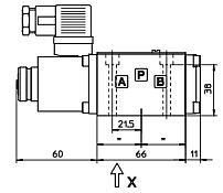 Габаритные размеры чертежи гидрораспределителей ATOS DHI, DHU, DHO