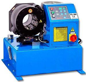 Обжимной станок yl–20 радиальный пресс Yeong Long YL20 для запрессовки рукавов высокого давления