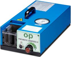 UNISPEED 01 пневматическое оборудование O+P для предварительного монтажа врезных колец DIN 3861 DIN 2353 развальцовки труб DIN 2391 DIN EN 10216-5