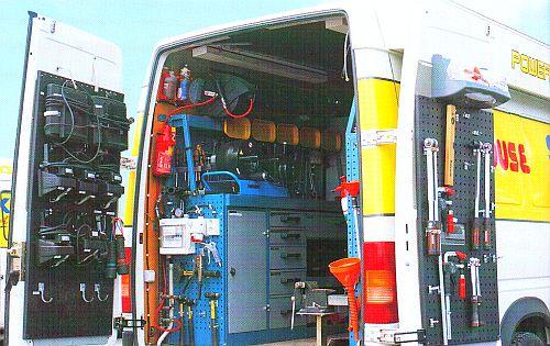 автомобильная мастерская по ремонту гидравлики на базе FINN-POWER P20AP с пневмоприводом