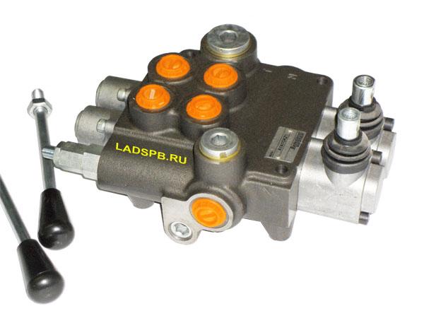 Моноблочные гидрораспределители Badestnost P80 расход 80 литров 250 бар до 6 секций