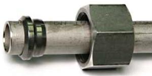 кольцо при монтаже трубопровода DIN 2353 установлено НЕ правильно