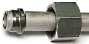 кольцо для трубопровода DIN 2353 установлено правильно