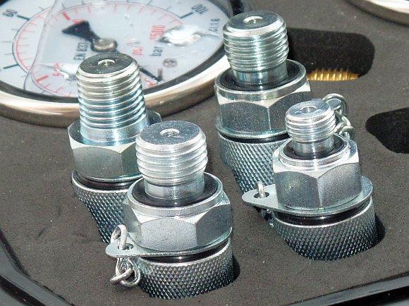 Системы измерения и регистрации - гидротестеры, измерители давления, температуры, скорости протока гидравлической жидкости