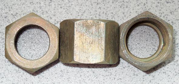 Гайка накидная М20х1,5 для фитинга DK(Г) М20х1,5 производство Ленавтодеталь чертеж