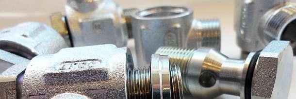 Трубное гидравлическое соединение с врезным кольцом ISO 8434-1 DIN 2353 Ленавтодеталь