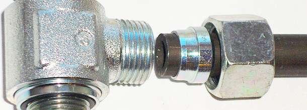 Трубное гидравлическое соединение с врезным кольцом ISO 8434-1 DIN 2353