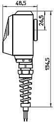 Электрические разъемы DIN 43650 распределителей ATOS DHI, DHU, DHO ISO 4401 CETOP 05 - Габариты корпуса E-SR/DC