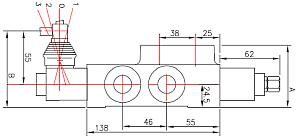 Распределитель моноблочный Badestnost Z80