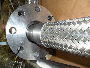 металлорукав свободный фланец на приварном кольце ГОСТ 12822-80