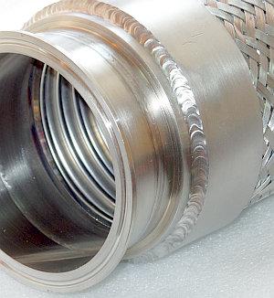 молочный металлорукав высокого давления CLAMP DIN 32676