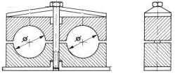 Кронштейны и крепления DIN 3015 для монтажа гидравлических труб