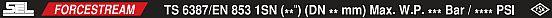 Гидрошланг РВД одна оплетка SEL FORCESTREAM 1A DIN EN853 1SN SAE 100R1AT/ISO 1436 HWB313