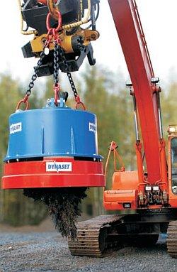 Компактные генераторы для грузовых электромагнитов Dynaset